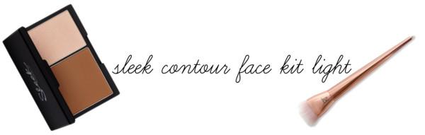 Sleek contour face kit Light